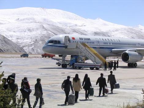 中国西藏昌都邦达机场