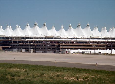 美国科罗拉多州丹佛国际机场